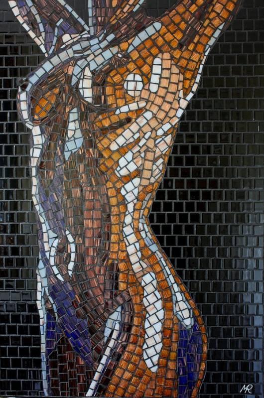 Как сделать картину из стекла своими руками