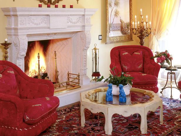 Гостиная С Красной Мебелью Москва