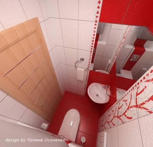 Идеи туалет плиткой